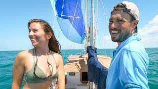 Sailing 50 miles Out of Our Way For Fresh Water | Sailing Cuba | S03E45