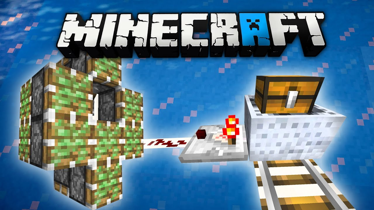 minecraft how to use pistons with redstone
