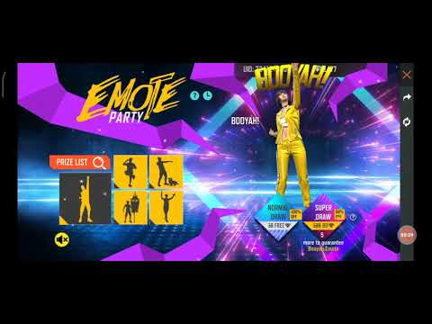 Emote Party Event | Free Fire New Event | Free Fire New Event Today | Emote Party Free Fire