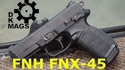 The .45 Punch Without the .45 Kick: The FN FNX-45