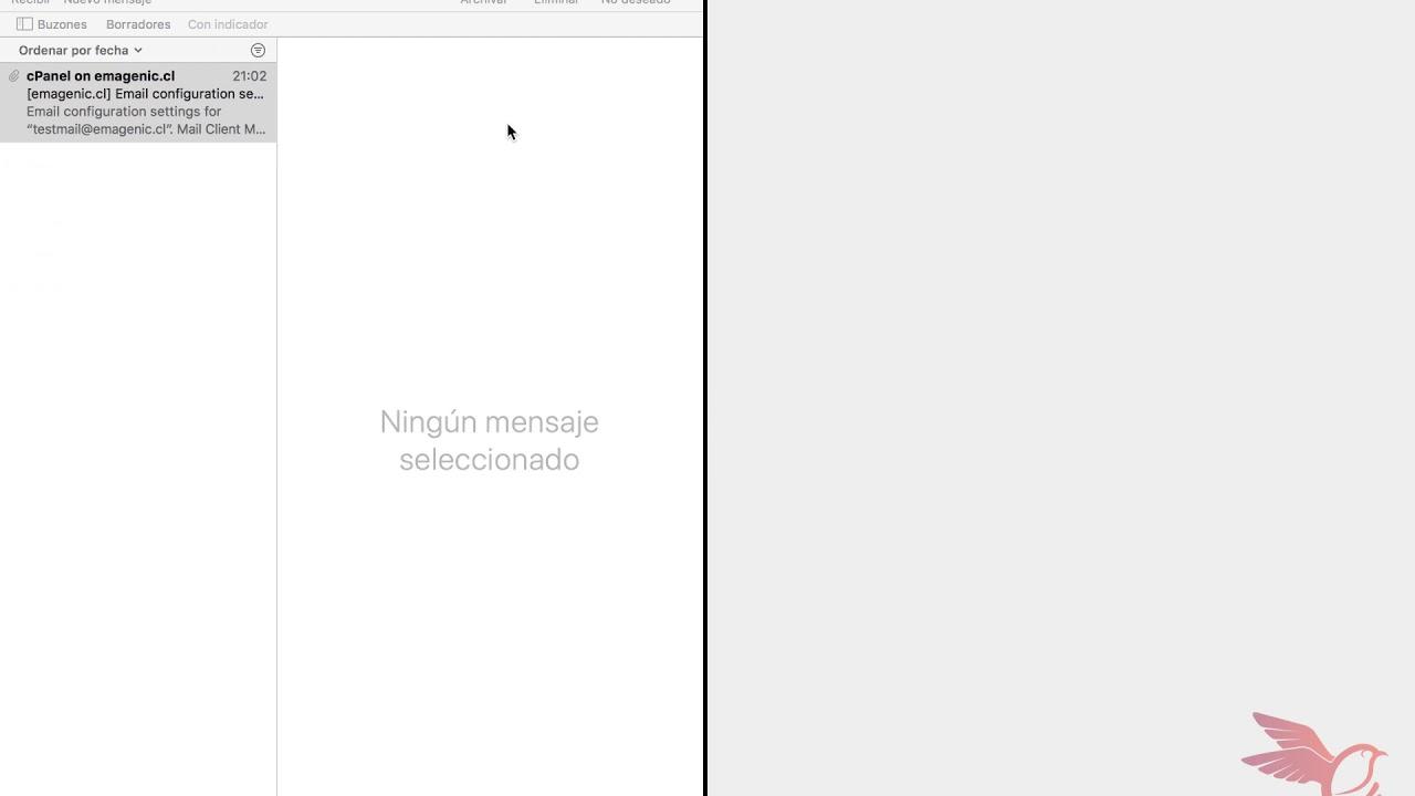Configurar correos en Mail de Mac