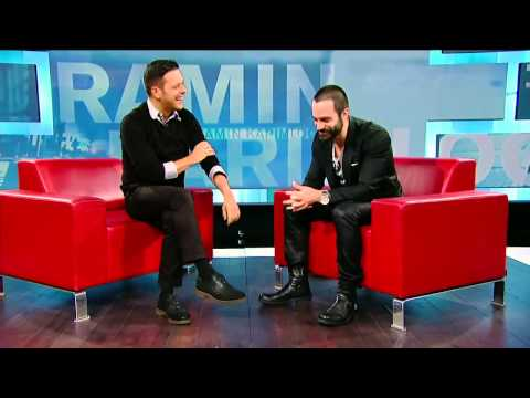 Ramin Karimloo on George Stroumboulopoulos Tonight: INTERVIEW