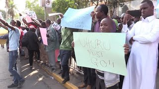 Kenya's opposition files a petition against presidential vote