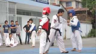 giao lưu taekwondo Phước tường và sư phạm kỹ thuật