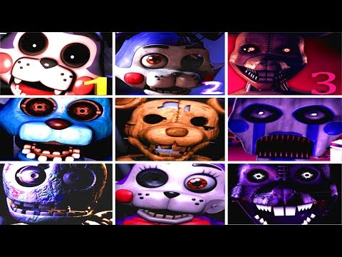 Five Nights at Candy's 1-3 Jumpscares Simulator