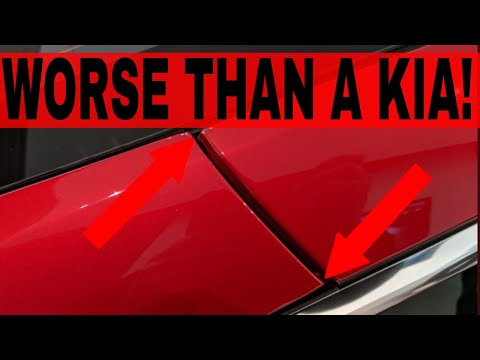 Tesla Model 3 Build Quality Is Comparable To A Kia From The U002790u0027s!?
