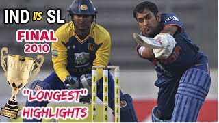 IDEA Cup Final: INDIA v SRI LANKA 2010 *LONGEST* Highlights Tri-Nation Series in BANGLADESH