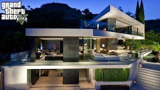 cristiano ronaldo gta 5 real life mod 8 new 5 000 000 dollar mansion
