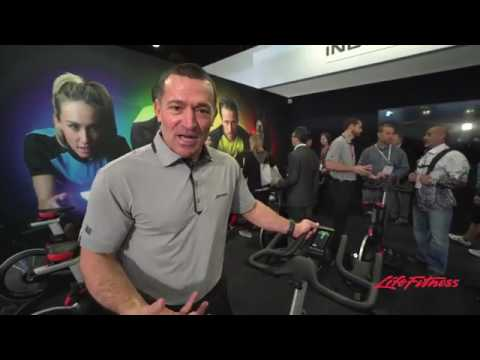 Life Fitness Indoor Cycles Powered By Icg Youtube