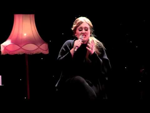 Adele - Lovesong (cover of the Cure - live)