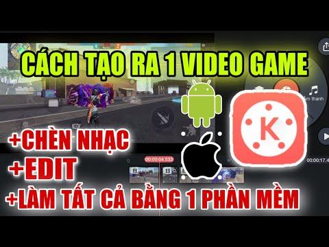 Chi Tiết Cách Edit Và Chèn Nhạc Làm Ra 1 Video Game Đăng Youtube Đơn Giản   Killer TV