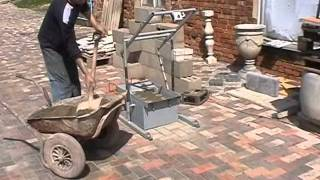 Concrete Blocks Machine Blox-2 Mini - Diy (do It Yourself) - Homemade From Drawings.