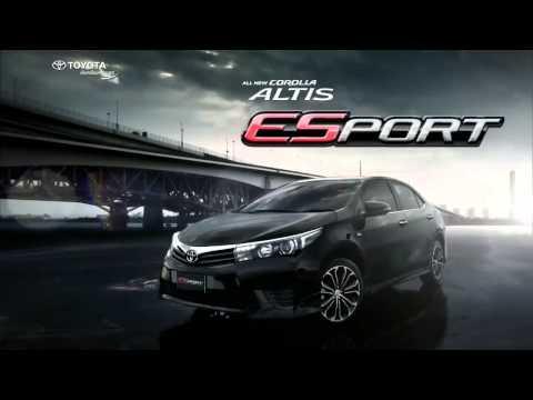 2014 Toyota Corolla Altis ESport โตโยต้า โคโรลล่า อัลติส เอสสปอร์ต ใหม่