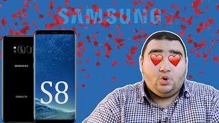 قصيدة حب لسامسونج جالكسي اس 8   Samsung Galaxy S8 impressions