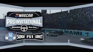 TODAY - eNASCAR iRacing Pro Invitational on FS1