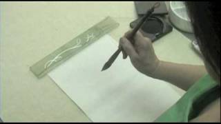 OAS Chinese Calligraphy lesson 1