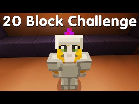 Minecraft PS4 - 20 Block Challenge - Portal Problems (21)