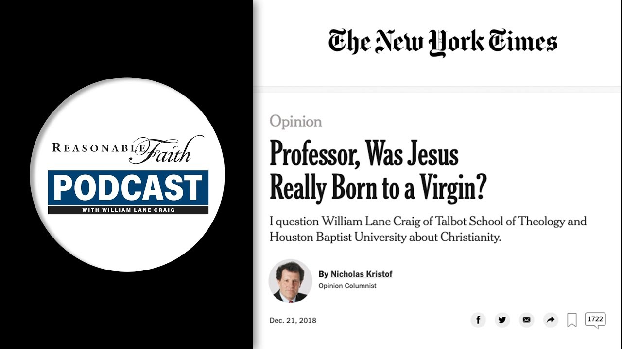 Dr. Craig's Interview in the New York Times | Reasonable Faith Video Podcast