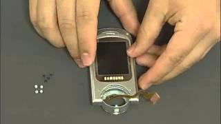 Samsung P730 vid09 - LCD Lower Case Assembling