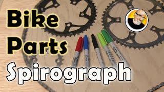 Bike Parts Spirograph!