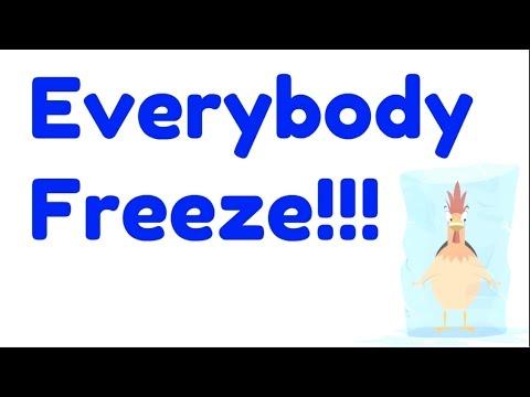 Everybody Freeze - Easy Kids Songs