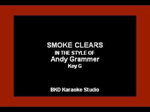 Andy Grammer - Smoke Clears (Karaoke Version)