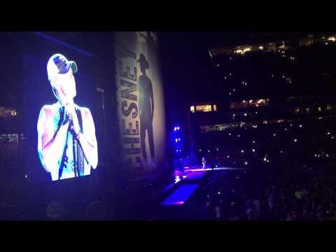 Kenny Chesney @ Arrowhead Stadium singing Anything but Mine 8/1/15