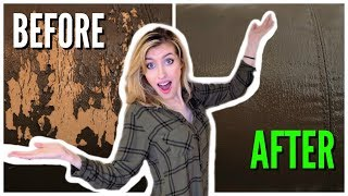 HOW TO FIX A PEELING LEATHER COUCH | HOW TO EASILY REPAIR REAL, BONDED, FAUX, OR FAKE LEATHER