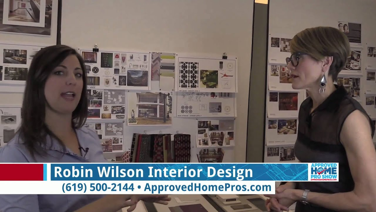 How To Make An Inspiration Board Robin Wilson Interior Design On The Roved Home Pro Show