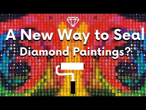 A New Way to Seal Diamond Paintings?!? - Tips and Tricks Series