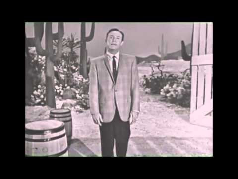 Jim Reeves Performing Welcome To My World LIVE on The Jimmy Dean Show 1964