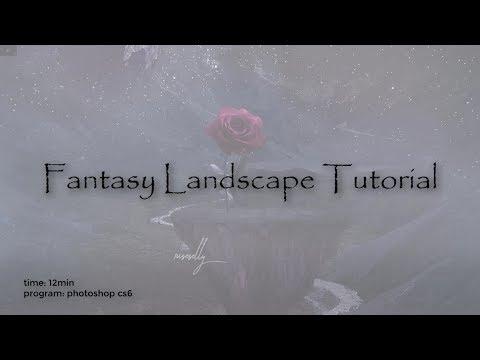 Landscape Tutorial || Photoshop Edit