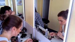 """Видео в процессе обучения, курс """"Макияж для Себя"""", школа Светланы Медведевой"""