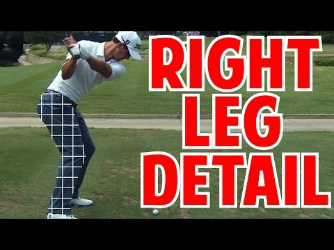 How to Use Your Right Leg in The Golf Swing   Crazy Detail