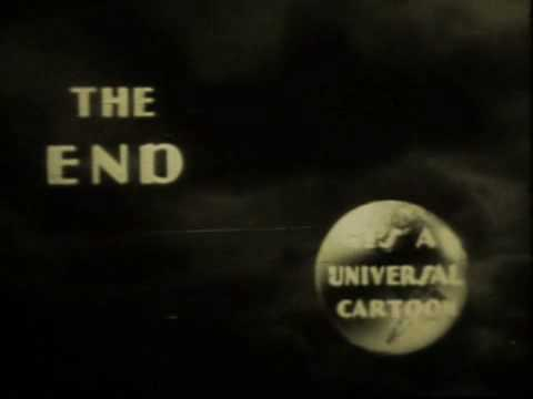 Universal cartoon end logo - 1931
