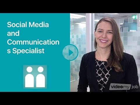 Social Media And Communications Specialist