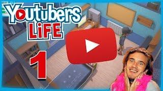 Let's Play YouTubers Life #1 ★ Werden wir der größte YouTuber der Welt? [German/Deutsch]