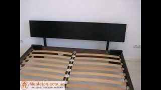 Кровать Титан Эстелла Венге(Купить кровать Титан - http://mebleton.com.ua/p2026206-krovat-titan-estella.html Двуспальная кровать из натурального бука по доступно..., 2012-11-06T14:19:28.000Z)