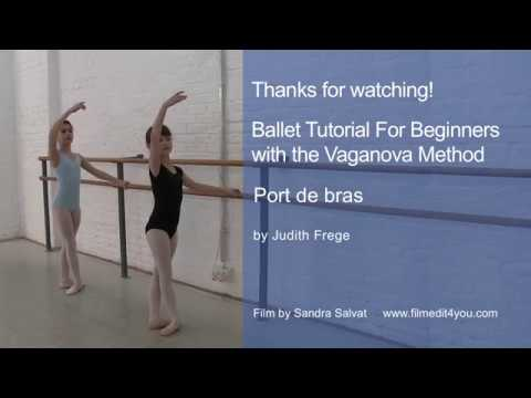 Teaching Port de bras in classical ballet Judith Frege