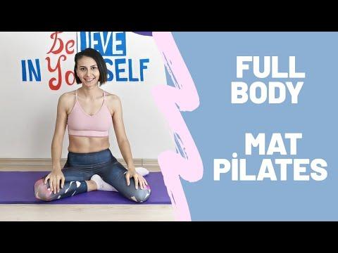 Mat Pilates ile Tüm Vücut Egzersizleri