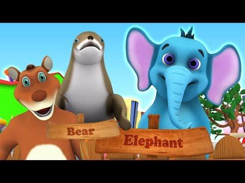 Wir gehen in den Zoo   Lied für Kinder   We Are Going To The Zoo   Little Treehouse Deutschland