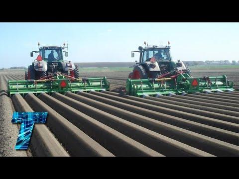 Как в Германии выращивают картофель | сельскохозяйственная | сельскохозяйствен | выращивают | картофель | вырастить | картошку | картошка | техника | как