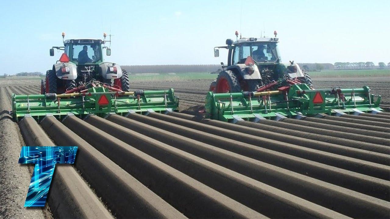 Ето как се садят и се вадят картофите в Германия! Точно като при нас, нали?