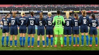 (1) USWNT vs England 3.2.2019 / SheBelievesCup 2019