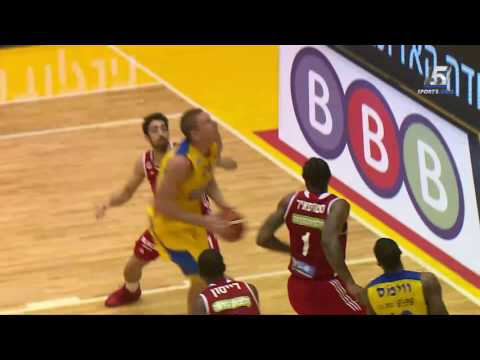 Highlights: Maccabi FOX Tel Aviv - Hapoel Jerusalem 85:83
