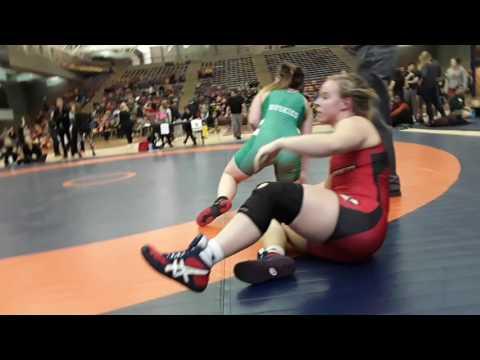 2016 Dino Invitational: 63 kg Emily Kessler vs. Ali McPhee