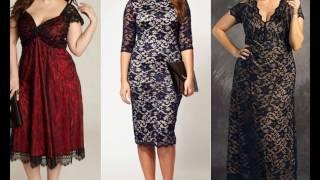 видео Кружевные платья 2018