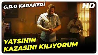 G.D.O KaraKedi Çatıdan Düşme Sahnesi | G.D.O KaraKedi Türk Komedi Filmi | Şafak Sezer Filmleri