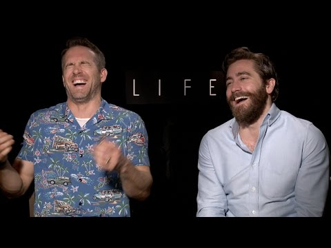 Ryan Reynolds and Jake Gyllenhaal  for LIFE, DEADPOOL  UNCENSORED