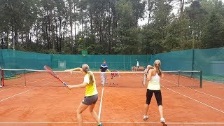 Теннис тренировка. Лагерь.